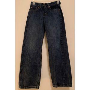 Boy's Levi's 550 Dark Wash Slim Straight sz 10